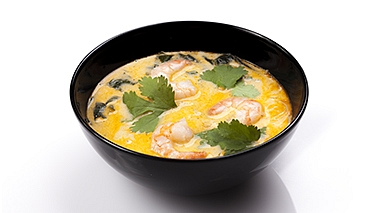 Tom Yum s krevetami