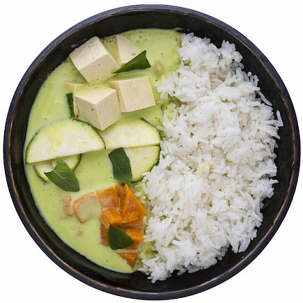 Green Veggie Curry